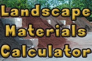 Topsoil, Sand, Stone, Mulch Calculator